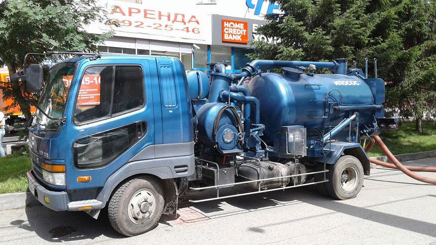 Услуги илососа в Новосибирске, цена